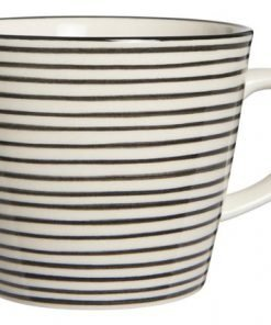 Casablanca Mug, black stribe