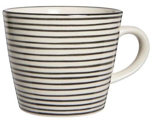 Casablanca Mug, black stribe