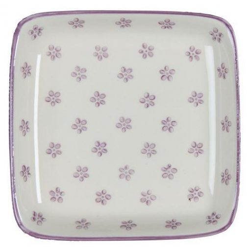 Casablanca Plate, Bloom