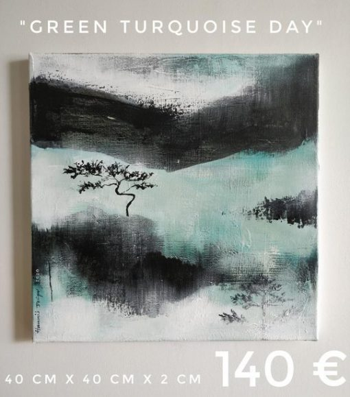 Hammi's Design - green turquoise day