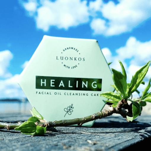 Healing - Moringa - rasvainen ja sekaiho, 60g