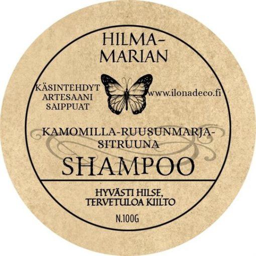 Kamomilla-Ruusunmarja-Sitruuna -shampoo