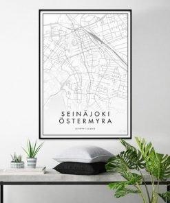 Kaupunkijuliste, Seinäjoki 50x70cm