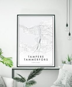 Kaupunkijuliste, Tampere 50x70cm
