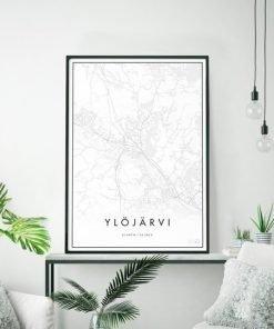 Kaupunkijuliste, Ylöjärvi 50x70cm