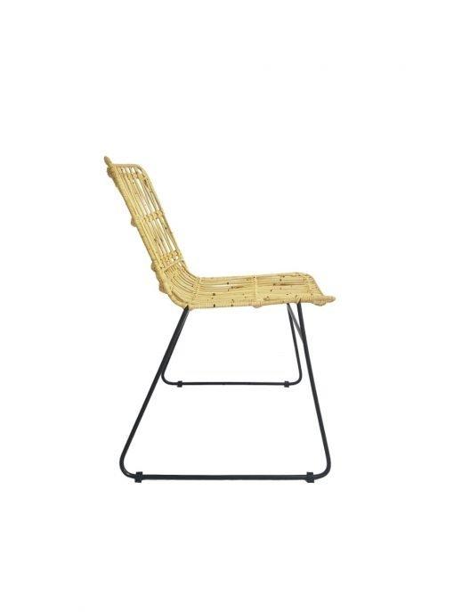 Palma tuoli luonnonväri-musta