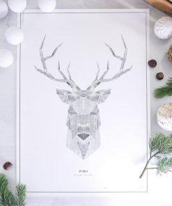 Poro-juliste, 50x70cm