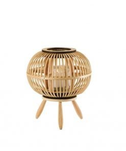 Pyöreä bambulyhty