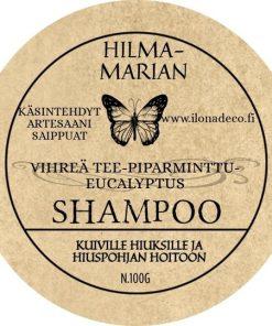 Vihreä tee-Piparminttu-Eucalyptus -shampoo