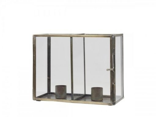 Candlestick w. 2 holders