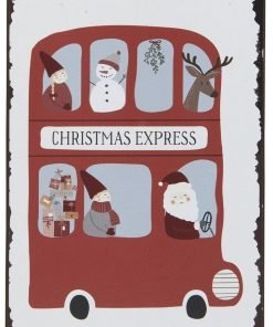 Christmas Express -metallikyltti