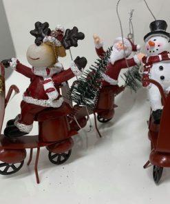 Jouluinen skootteri, lumiukko