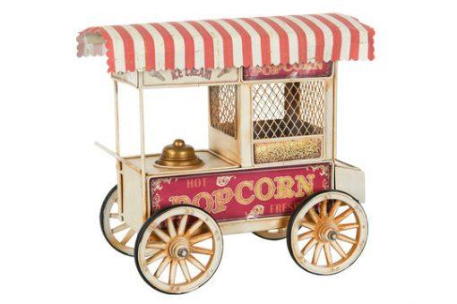 Popcorn-vaunu, metalli