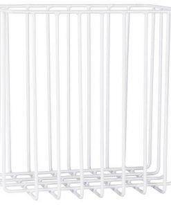 Valkoinen metallikori