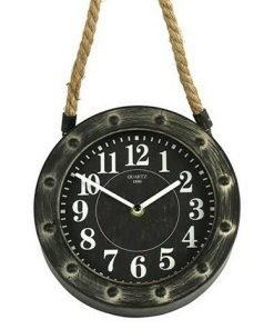 Kello juuttinarulla, 20 cm