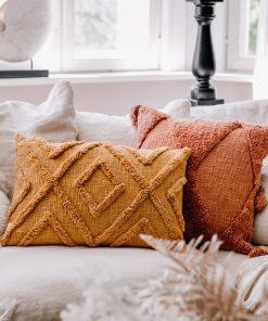 Tyynynpäällinen, ruosteensävyinen